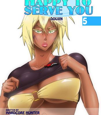 Porn Comics - Happy To Serve You 5 Cartoon Porn Comic