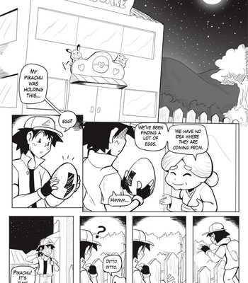 Porn Comics - Ditto Used Transform! Sex Comic