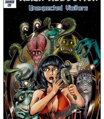 Porn Comics - Alien Abduction 1 – Unexpected Visitors Sex Comic