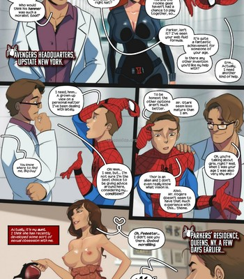 Aunt-Cumming - Spider-Man Porn Comic 003