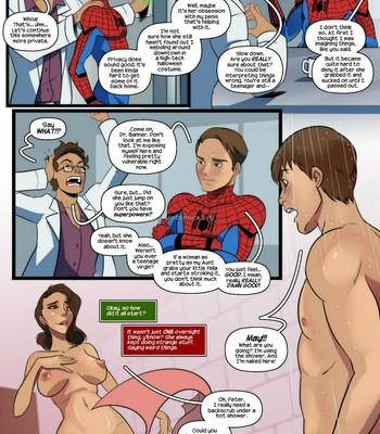 Aunt-Cumming - Spider-Man Porn Comic 004