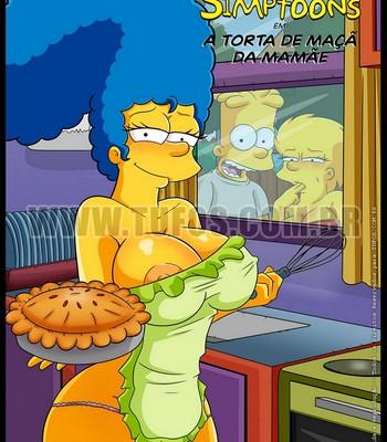 Porn Comics - The Simpsons 9 – Mom's Apple Pie Cartoon Porn Comic