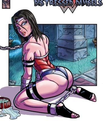 Porn Comics - Distressed Damsels 1 – Wonder Woman Sex Comic