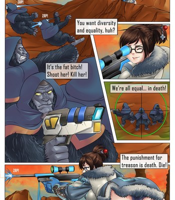 Pervywatch - Rebellion Of The Apes Porn Comic 020