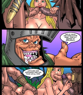 Alice In Monsterland 6 - A Gang Bang Of Hearts Porn Comic 003