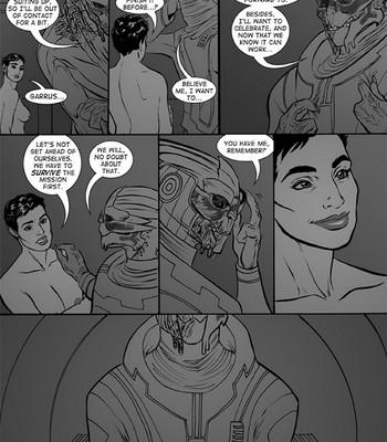 First Contact Cartoon Porn Comic