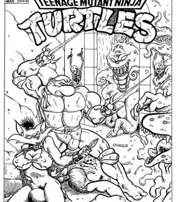 Porn Comics - Teenage Mutant Ninja Turtles Porn Comic