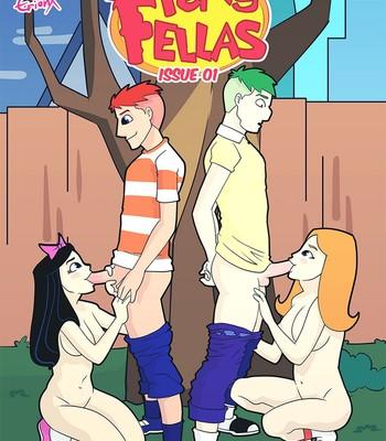 Porn Comics - Pervy Fellas Sex Comic