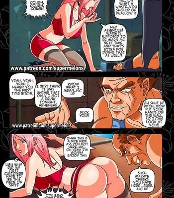 Alley Slut Sakura Porn Comic 022