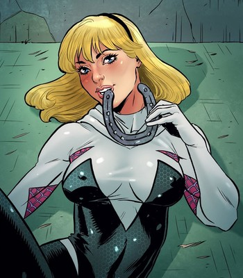 Spider-Gwen - Luv Horses Porn Comic 009