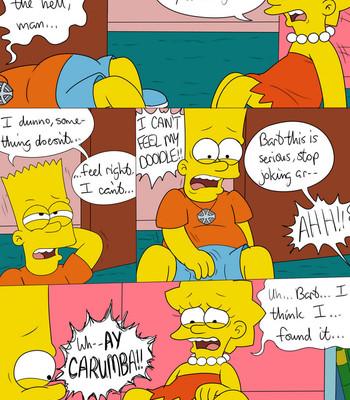 Simpsons Gender Bender Porn Comic 002