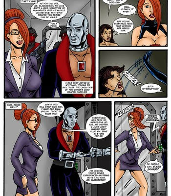 Danger Girl - In The Clutches Of Cobra 6 Porn Comic 002