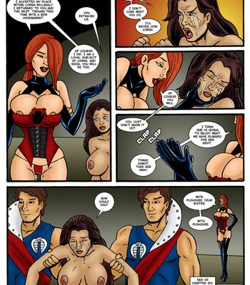 Danger Girl - In The Clutches Of Cobra 6 Porn Comic 006