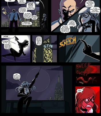 Porn Comics - Black Cat's Luck Cartoon Porn Comic