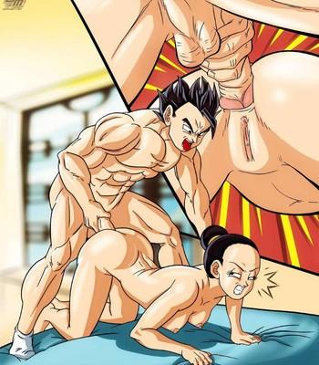 Gohan Plowing Chi Chi Porn Comic 004