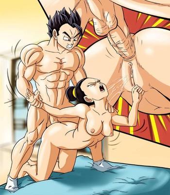 Gohan Plowing Chi Chi Porn Comic 006
