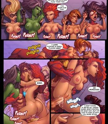 Assvengers 1 Porn Comic 005