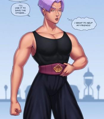 Porn Comics - Princess Trunks PornComix