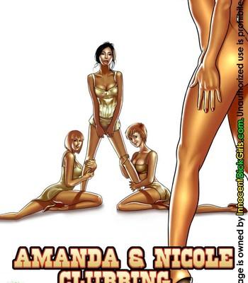 Porn Comics - Amanda & Nicole Clubbing Cartoon Comic