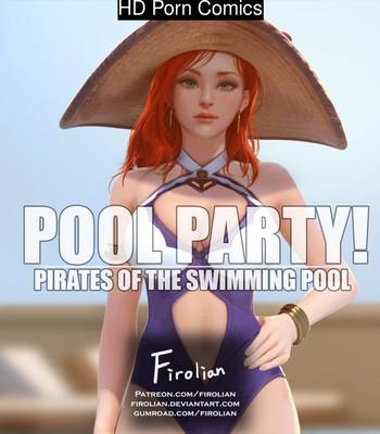 Porn Comics - Pool Party 1 – Miss Fortune Cartoon Porn Comic