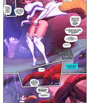 Porn Comics - Monster Humper World Sex Comic