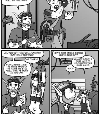 Linburger 8 - Field Work Porn Comic 007