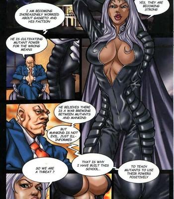 LateX-Men Porn Comic 003