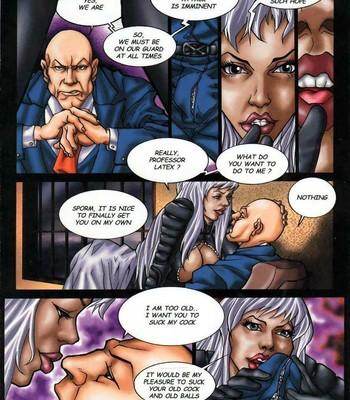 LateX-Men Porn Comic 004
