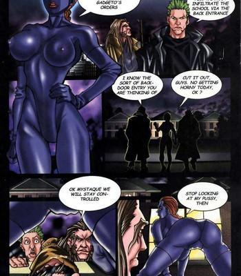 LateX-Men Porn Comic 005