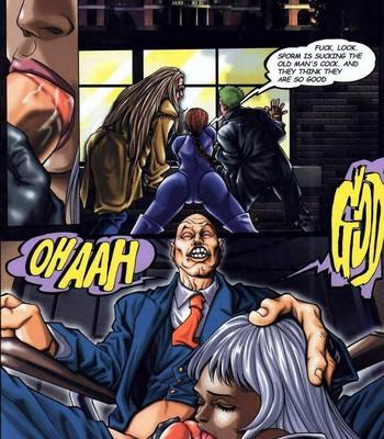 LateX-Men Porn Comic 006