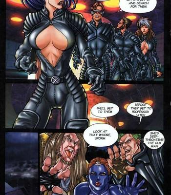 LateX-Men Porn Comic 007