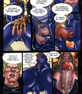 LateX-Men Porn Comic 011