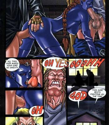 LateX-Men Porn Comic 012