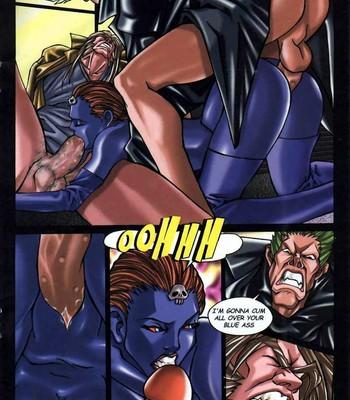 LateX-Men Porn Comic 014