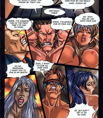 LateX-Men Porn Comic 018