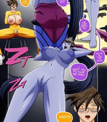 Overwatch X 1 - The Secret Of Widowmaker Porn Comic 010