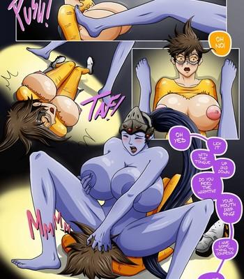 Overwatch X 1 - The Secret Of Widowmaker Porn Comic 011