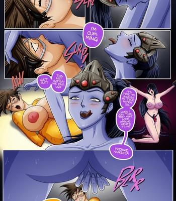 Overwatch X 1 - The Secret Of Widowmaker Porn Comic 012