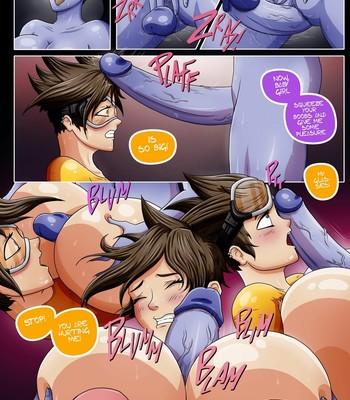 Overwatch X 1 - The Secret Of Widowmaker Porn Comic 013