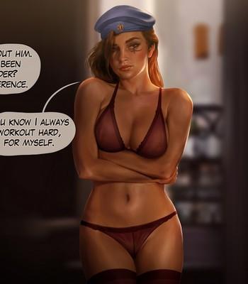 Ana - Queen Of Spades Porn Comic 009