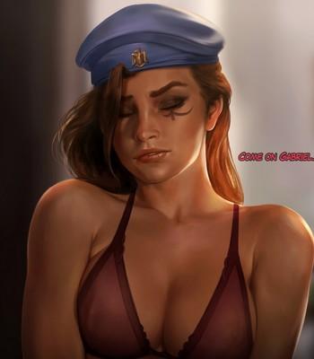 Ana - Queen Of Spades Porn Comic 010