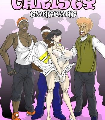 Porn Comics - Christy Gangbang Cartoon Comic