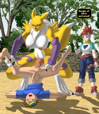 Porn Comics - Digimon & Dongles Sex Comic