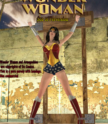 Porn Comics - Wonder Woman – Son Of Perversion 1 Cartoon Porn Comic