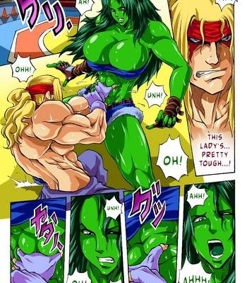 Porn Comics - Alex vs She-Hulk Porn Comic