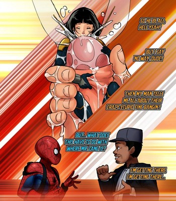 Ant-Man And The Wasp Porn Comic 002
