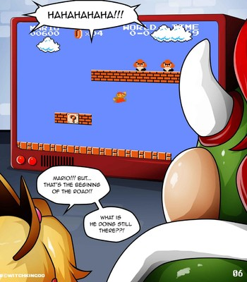 Princess Peach - Help Me Mario! The Prequel Porn Comic 007