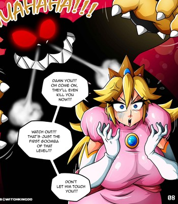 Princess Peach - Help Me Mario! The Prequel Porn Comic 009