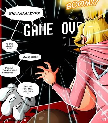 Princess Peach - Help Me Mario! The Prequel Porn Comic 042