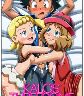 Porn Comics - Kalos Threesome Porn Comic
